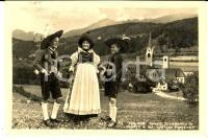 1957 SAN LORENZO DI SEBATO Costumi della VAL PUSTERIA *Cartolina FP VG