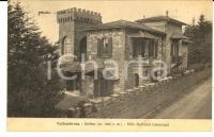 1928 VALLOMBROSA (FI) SALTINO - Villa MALVEZZI CAMPEGGI *Cartolina FP VG