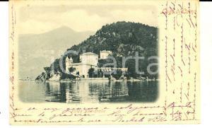 1901 PUNTA DI BALBIANELLO Panorama con il Lago di Como *Cartolina VINTAGE FP VG