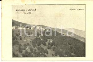1923 VALMALA (CN) Veduta pannoramica del santuario *Cartolina postale FP VG