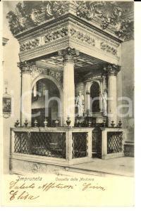 1906 IMPRUNETA (FI) Cappella della Madonna *Cartolina postale VINTAGE FP VG