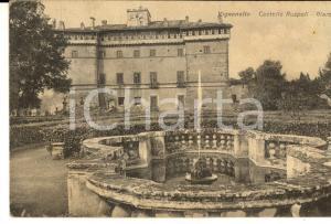 1940 VIGNANELLO (VT) Castello RUSPOLI - Giardino *Cartolina FP VG