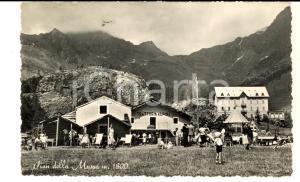 1951 PIAN DELLA MUSSA Veduta con Trattoria Alpina *Cartolina FP VG