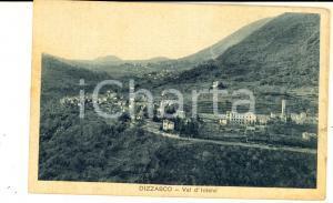 1930 ca DIZZASCO (CO) Panorama del paese in VALLE INTELVI *Cartolina FP NV
