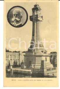 1920 ca MONZA Cappella espiatoria in memoria di re UMBERTO I * Cartolina FP NV