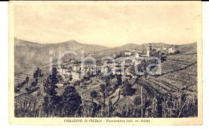 1930 ca CIGLIONE /ACQUI TERME (AL) Panorama del paese *Cartolina FP VG