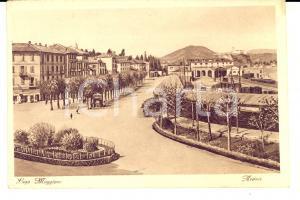 1930 ca ARONA (NO) Panorama del centro cittadino *Cartolina postale FP NV