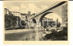 1930 ca CIVIDALE (UD) Ponte del Diavolo ricostruito nel 1918 *Cartolina FP NV