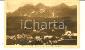 1930 ca OLTRE IL COLLE (BG) Panorama del paese *Cartolina postale FP NV