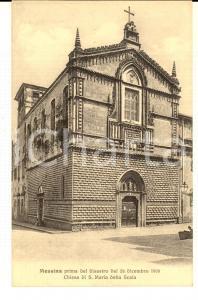 1910 ca MESSINA Chiesa SANTA MARIA DELLA SCALA prima del terremoto *Cartolina NV