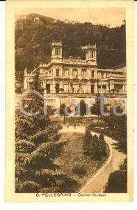 1915 ca SAN PELLEGRINO TERME Panorama con il CASINO KURSAAL *Cartolina FP NV