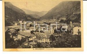 1915 ca SAN PELLEGRINO TERME (BG) Panorama generale *Cartolina FP NV