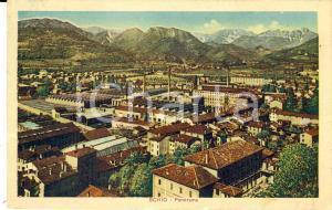 1914 SCHIO (VI) Panorama del paese *Cartolina ILLUSTRATA FP VG