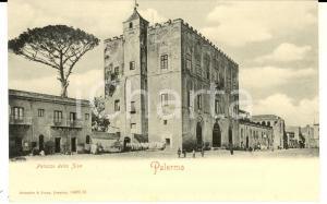 1900 ca PALERMO Veduta del palazzo della ZISA *Cartolina postale FP NV