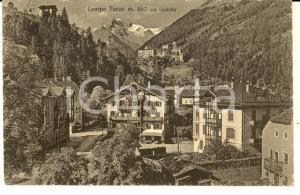 1929 CAMPO TURES (BZ) Veduta panoramica con il castello *Cartolina FP VG