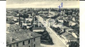 1960 ca CERVIGNANO NEL FRIULI Panorama del paese *Cartolina VINTAGE FP VG