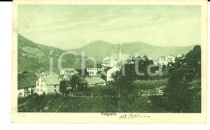 1930 ca FOLGARIA (TN) Veduta panoramica del paese *Cartolina postale FP NV