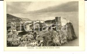 1920 ca RAGUSA La città cinta di fortezze venete *Cartolina Assistenza VENEZIA
