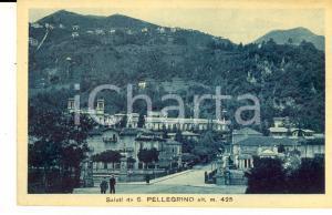 1915 ca SAN PELLEGRINO TERME (BG) Panorama generale - Cartolina FP NV