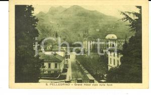 1915 ca SAN PELLEGRINO TERME Grand Hotel visto dalle fonti *Cartolina FP NV