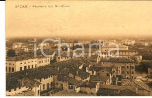 1915 ca SACILE (PN) Panorama lato Sud-Ovest *Cartolina postale FP NV