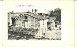 1900 ca SENIGALLIA Casa ove fu allattato papa PIo IX *Cartolina postale FP NV