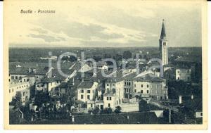 1930 ca SACILE (PN) Veduta panoramica del paese  - Cartolina postale FP NV