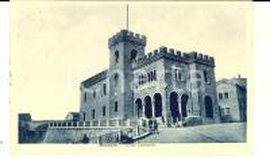 1956 MONDOLFO (PU) Veduta del Palazzo Comunale *Cartolina ANIMATA FP VG