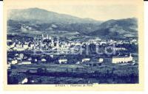 1942 OVADA (AL) Panorama visto da Nord *Cartolina postale FP NV