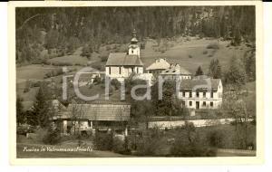 1947 FUSINE IN VALROMANA (UD) Veduta del paese *Cartolina postale FP VG