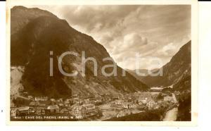 1940 ca CAVE DEL PREDIL (UD) Veduta con il monte RAIBL *Cartolina FP NV