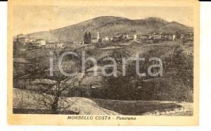 1950 ca MORBELLO (AL) Veduta della frazione COSTA *Cartolina postale FP VG