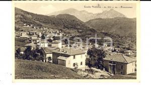 1930 ca SANTA VALERIA (CO) Panorama del paese *Cartolina postale FP NV