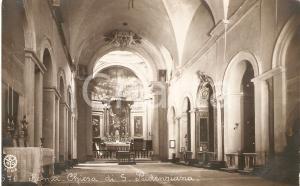 1940 ca ROMA Interno della Basilica di Santa Pudenziana *Cartolina FP NV