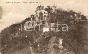 1925 ca VALPERGA (TO) Santuario di BELMONTE Panorama *Cartolina FP VG