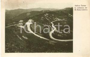 1928 SALICE TERME (PV) La Cantoniera del MONTE PENICE *Cartolina FP VG