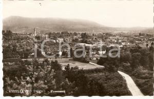 1955 ca CASTELLETTO TICINO (NO) Panorama della città *Cartolina FP NV