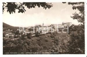 1945 LANZO TORINESE (TO) Istituto Albert e Collecio Don Bosco *Cartolina FP VG