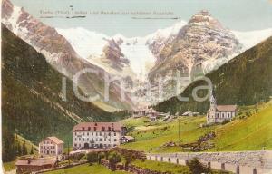 1920 TRAFOI (BZ) Hotel und pension zur schonen Aussicht *Cartolina FP VG