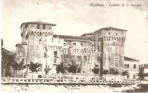 1935 ca MANTOVA Castello di San Giorgio *Cartolina FP NV