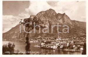 1934 LECCO Panorama e Monte San Martino *Cartolina FP VG
