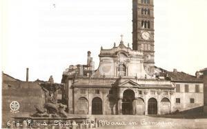 1940 ca ROMA Basilica di Santa Maria in Cosmedin *Cartolina FP NV