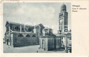 1941 CHIOGGIA (VE) Corso Vittorio Emanuele e Duomo *Cartolina FP VG