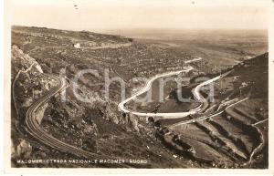 1936 MACOMER (NU) Strada nazionale Macomer - Nuoro *Cartolina FP VG