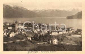 1930 ca CANNOBIO (VB) Panorama generale *Cartolina FP VG
