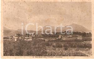 1939 SAN DANIELE DEL FRIULI (UD) Panorama della città *Cartolina FP VG