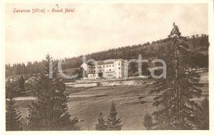 1911 LAVARONE (TN) Panorama con GRAND HOTEL *Cartolina FP NV