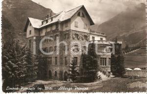 1950 LIMONE PIEMONTE (CN) Panorama con Albergo Principe *Cartolina FP VG