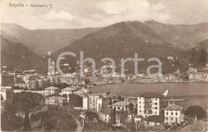 1919 RAPALLO (GE) Panorama della città *Cartolina FP VG