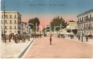 1919 PALERMO Uomo in piedi al centro di Via della Libertà *Cartolina FP VG